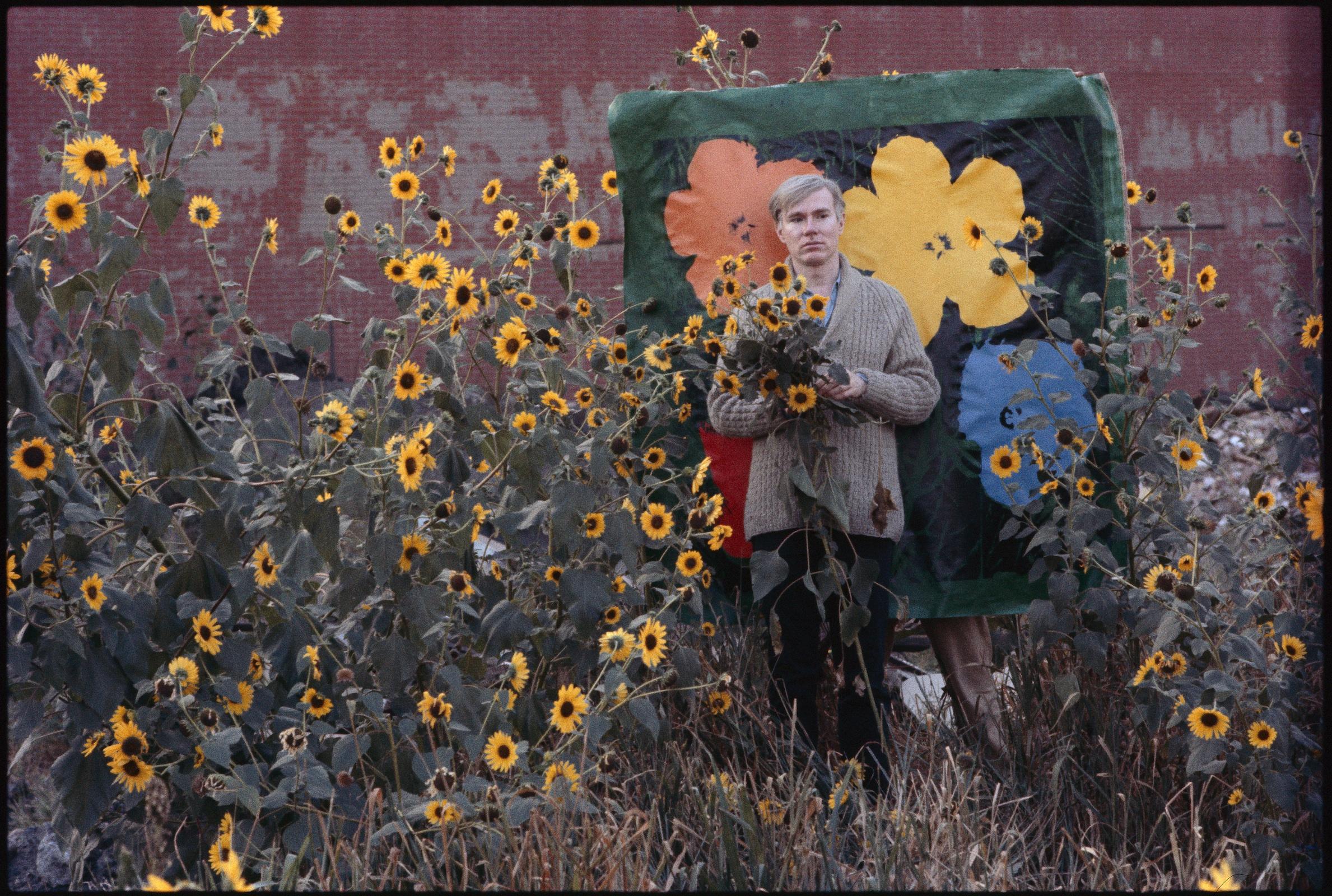 Warhol Flowers IX