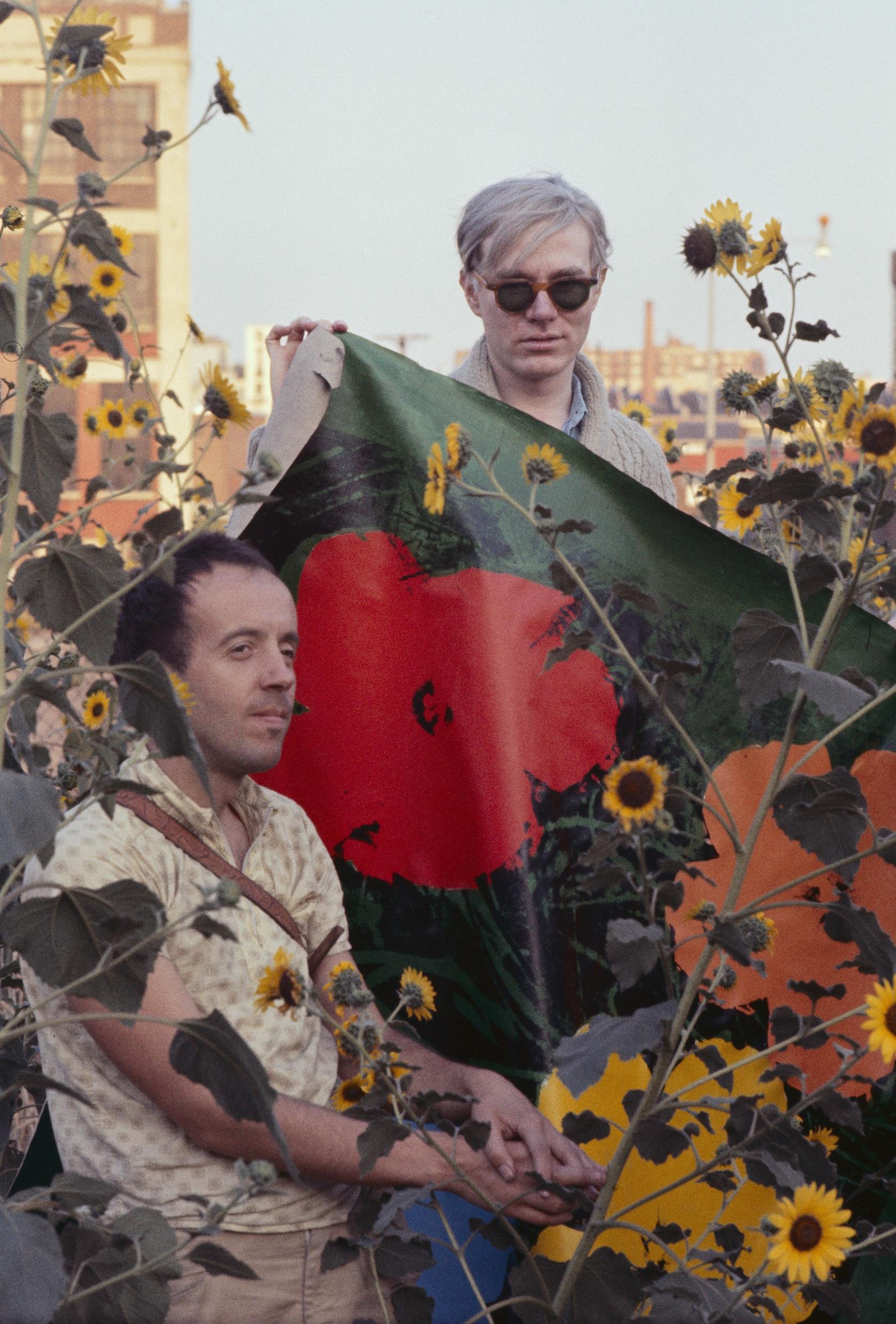 Warhol Flowers XVII