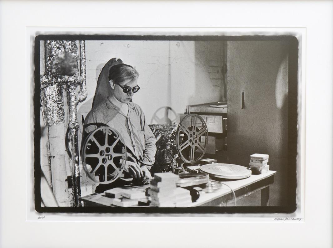 Andy Warhol Editing Film