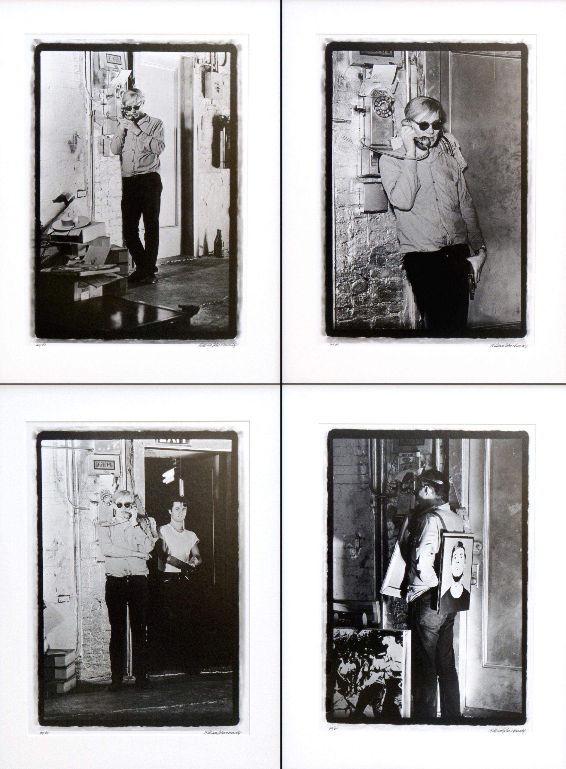 Warhol Factory Telephone Suite l-lV ( suite of 4)